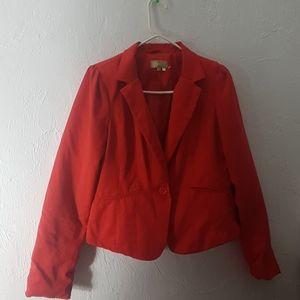 Ashley red blazer jacket